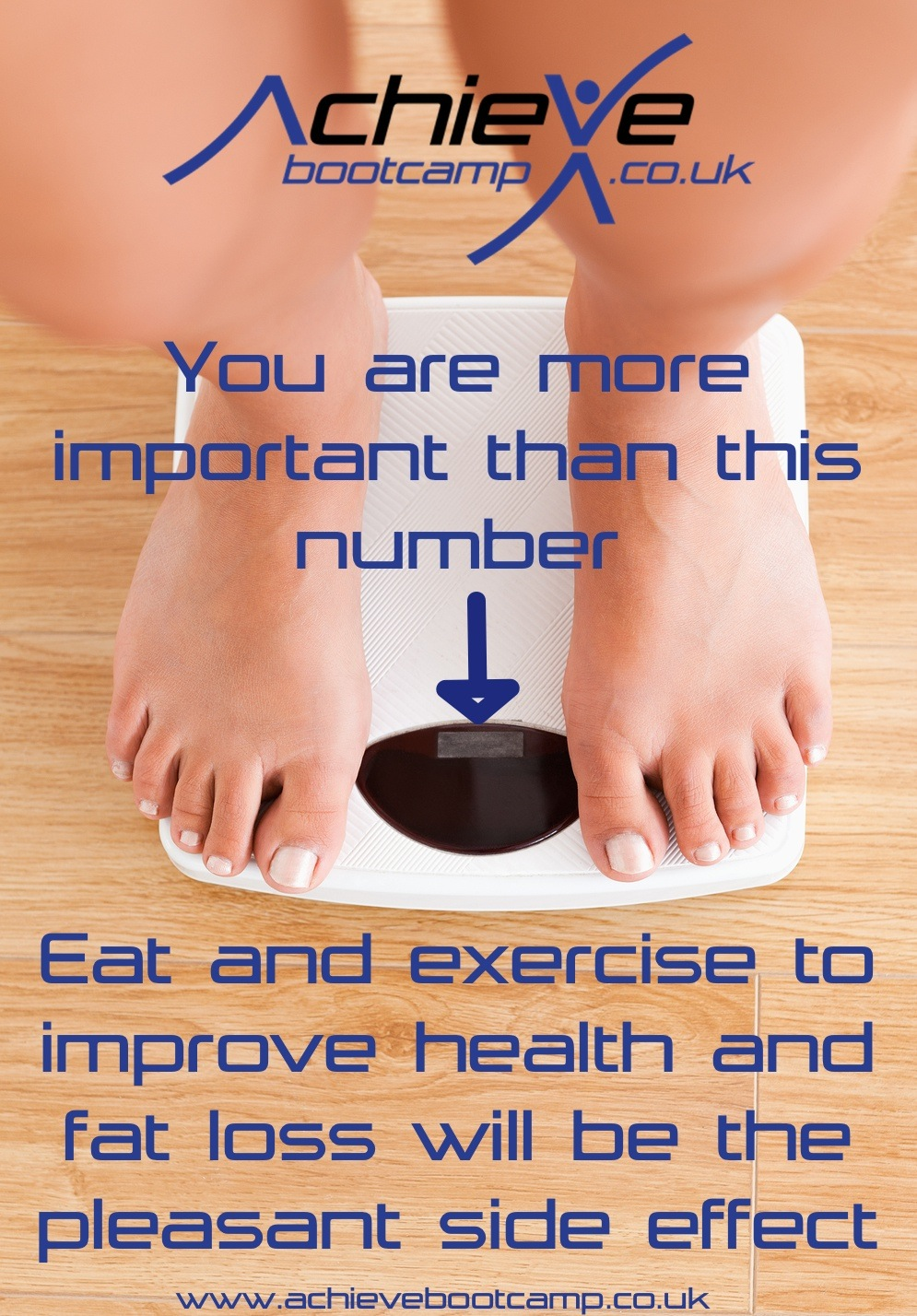 Measure your weight loss success accurately.